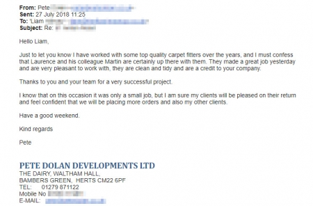 testimonial-pete-dolan-developments-ltd