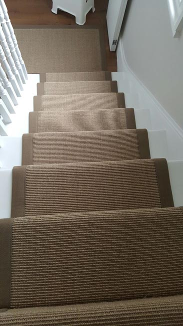 portfolio carpets brown stairs with brown stair runner 01