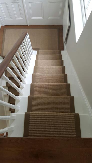 portfolio carpets brown stairs with brown stair runner 03