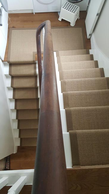 portfolio carpets brown stairs with brown stair runner 04