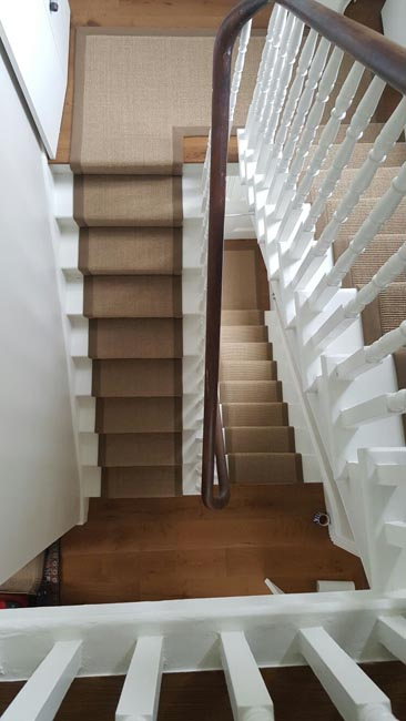 portfolio carpets brown stairs with brown stair runner 05