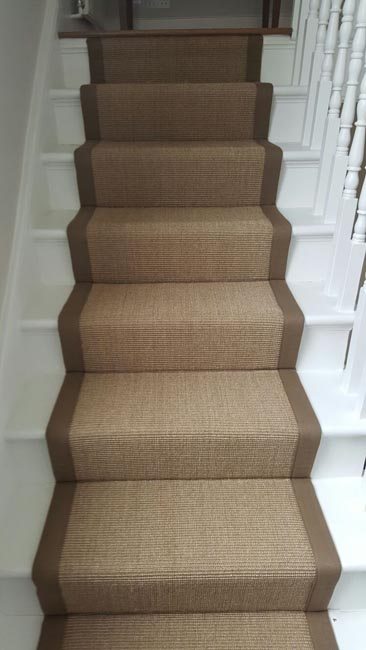 portfolio carpets brown stairs with brown stair runner 07