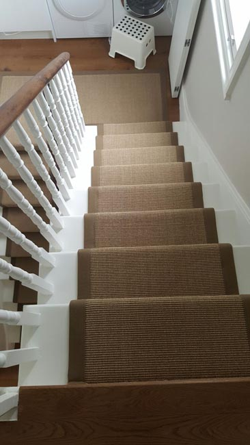 portfolio carpets brown stairs with brown stair runner 08