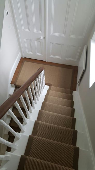 portfolio carpets brown stairs with brown stair runner 09