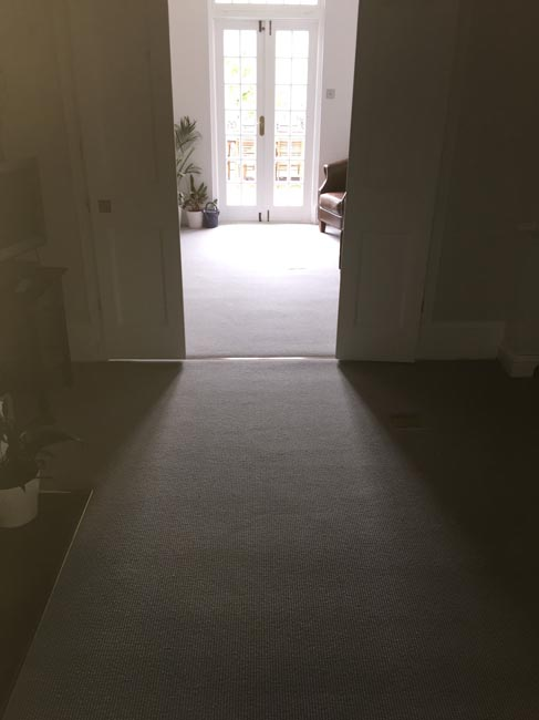 portfolio carpets grey stair carpet installed 04