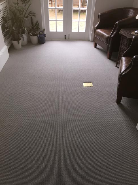 portfolio carpets grey stair carpet installed 05