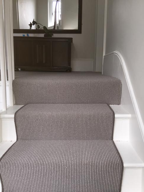portfolio carpets grey stair carpet installed 07