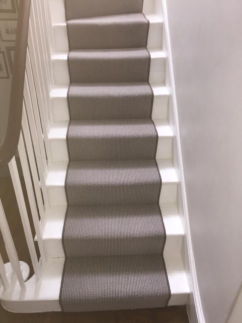 portfolio carpets grey stair carpet installed 09