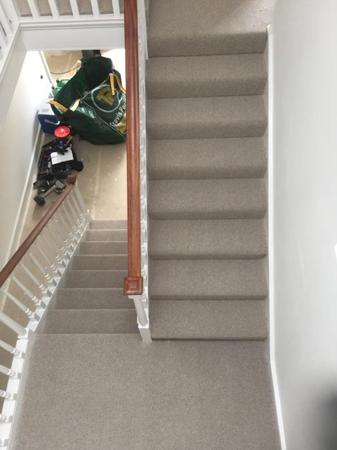 portfolio carpets grey stairs west london 04