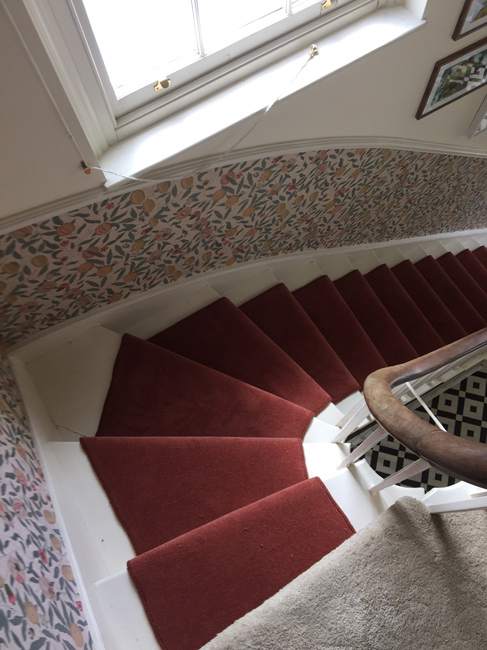 portfolio carpets red stair runner 02