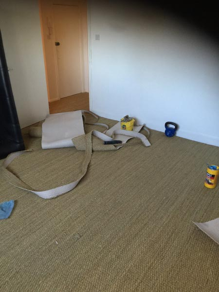 portfolio carpets sisal installed on flat areas 03