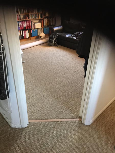 portfolio carpets sisal installed on flat areas 04