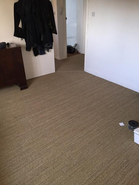 portfolio carpets sisal installed on flat areas 10