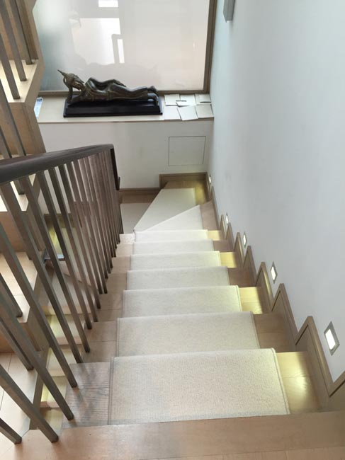 portfolio carpets white beige stair runner 300616 05