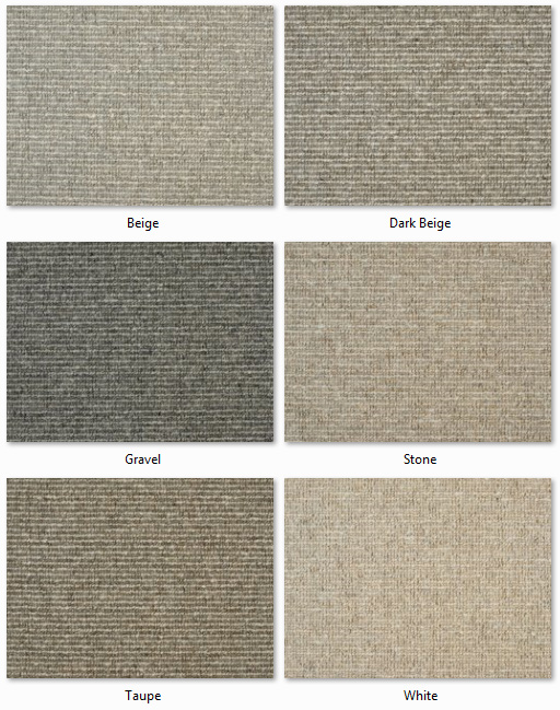 Clarendon Carpets - Wool Mix Naturals - Cambridge Range