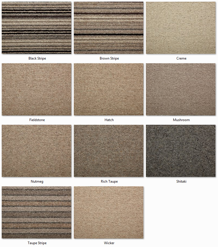 Clarendon Carpets - Wool Mix Naturals - Covent Garden Range
