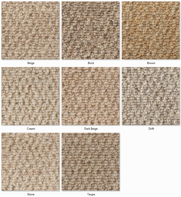 Clarendon Carpets - Wool Mix Naturals - Eton Range