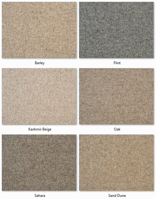 Clarendon Carpets - Wool Mix Naturals - Mortlake Range