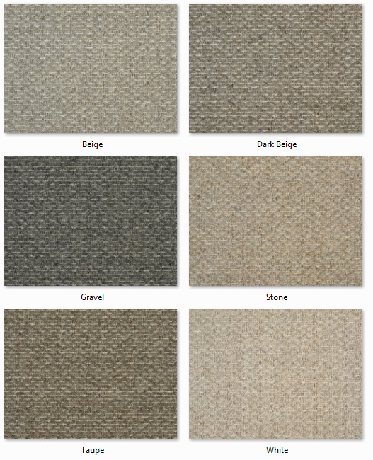 Clarendon Carpets - Wool Mix Naturals - Oxford Range