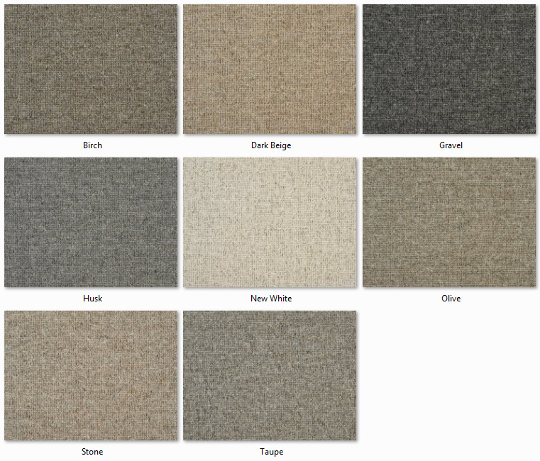 Clarendon Carpets - Wool Mix Naturals - Sweden Range