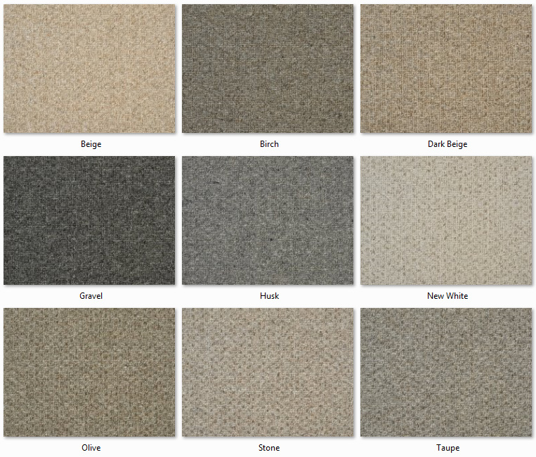 Clarendon Carpets - Wool Mix Naturals - Windsor Range