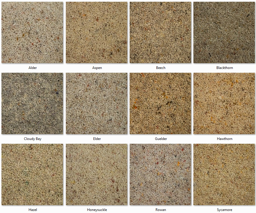 Clarendon Carpets - Wool Mix Twist Piles - Country Heathers Range