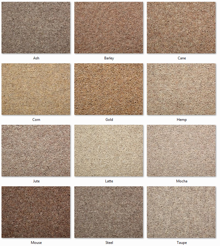 Clarendon Carpets - Wool Mix Twist Piles - Kendall Range