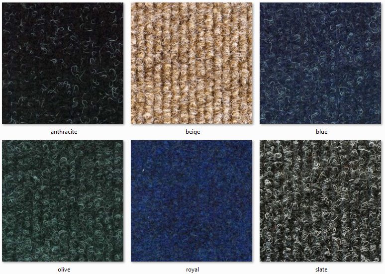 Dyne Carpet Tiles - New York Ranges