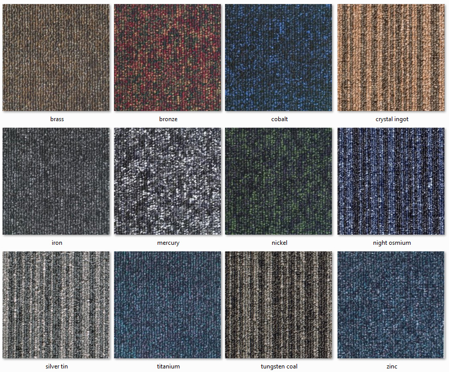 Dyne Carpet Tiles - Tufton Ranges