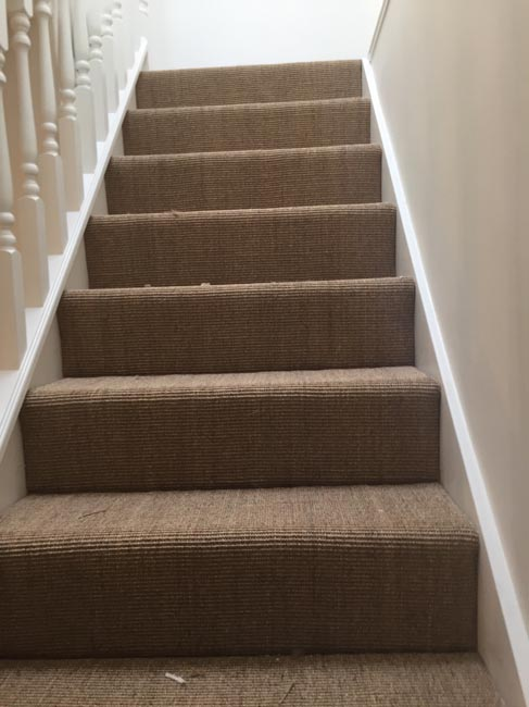 Stairs Sisal The Flooring Group