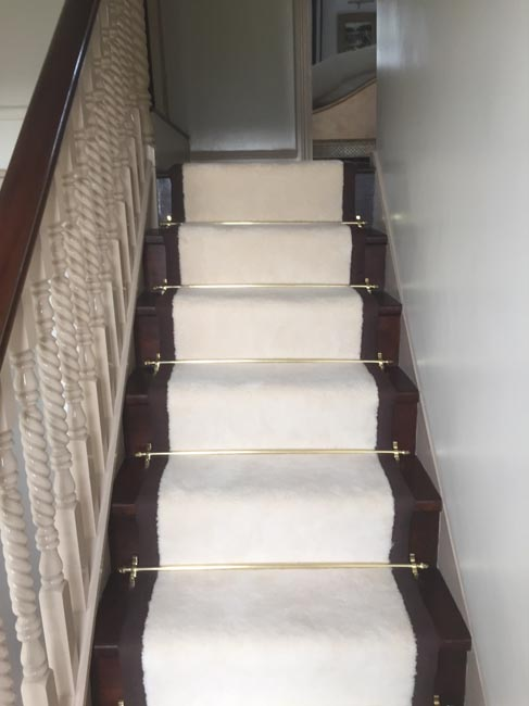 portfolio carpets white stairs black broder runner 09