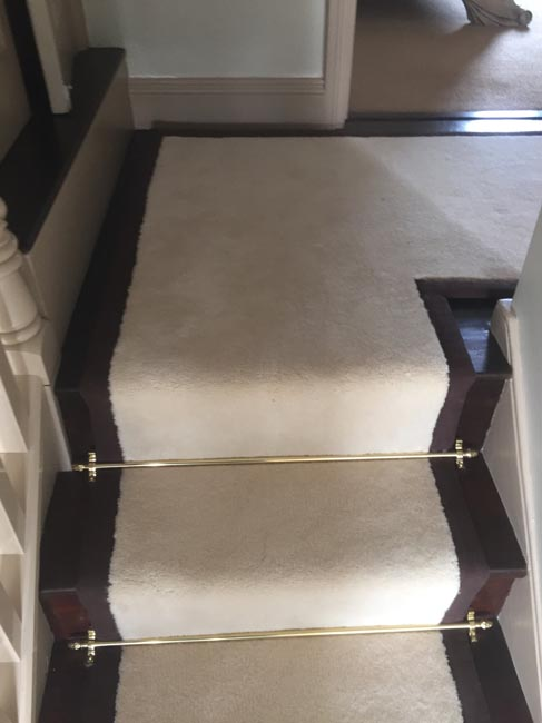 portfolio carpets white stairs black broder runner 11