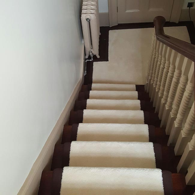 portfolio carpets white stairs black broder runner 18