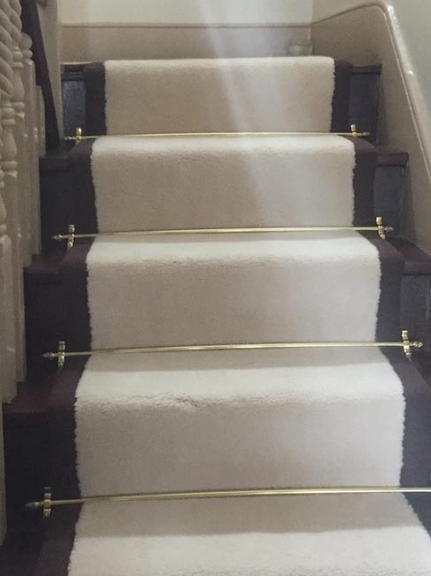 portfolio carpets white stairs black broder runner 23