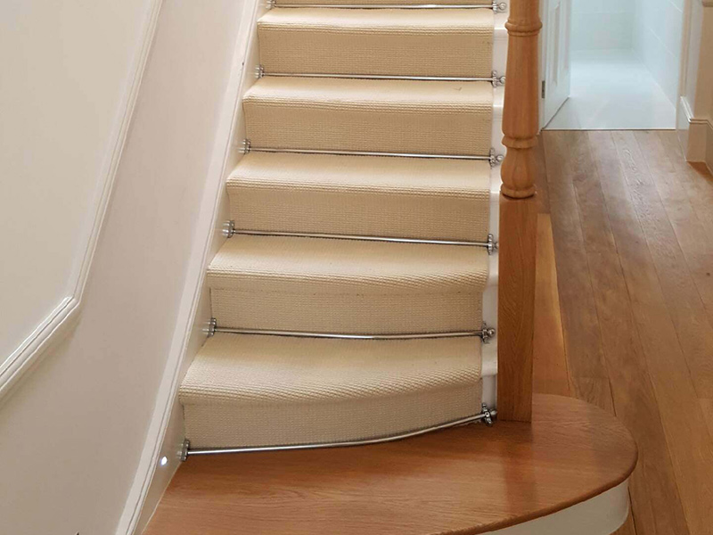Stairs Silver Stairrods The Flooring Group