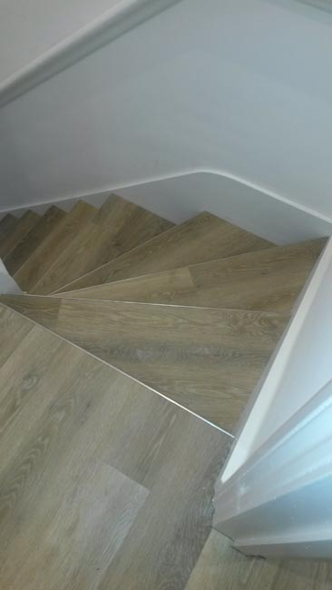 Stairs Amtico Wood Look The Flooring Group