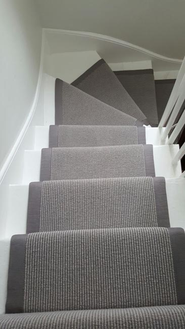 Grey Stair Runner The Flooring Group