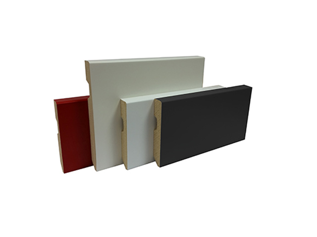 Perfilstar – Lacquered Skirting B/W Or Ral