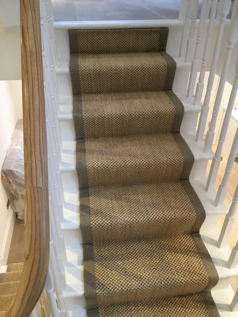 Stairs Sisal Carpet The Flooring Group
