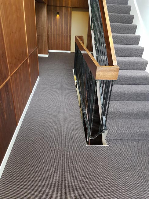 portfolio carpet close covered stairs 02