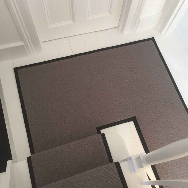 Grey Stair Runner With Black Binding On The Sides 20170805_120616000_iOS3