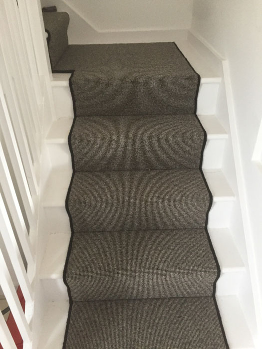 portfolio grey stair runner with black whipping 02