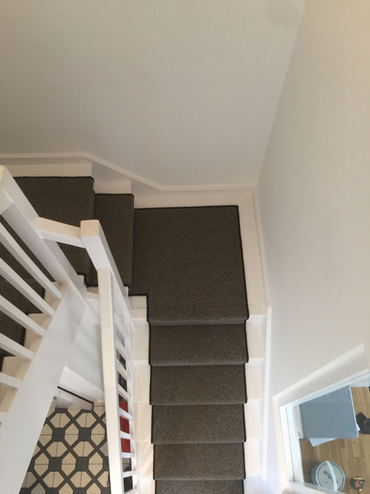 portfolio grey stair runner with black whipping 06