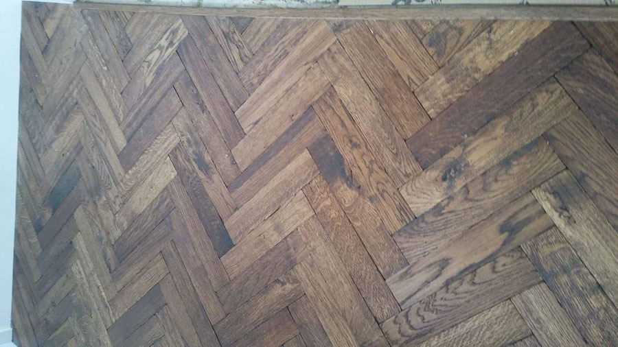 portfolio herringbone wood flooring to premises 03
