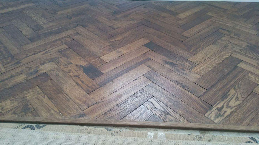 portfolio herringbone wood flooring to premises 04