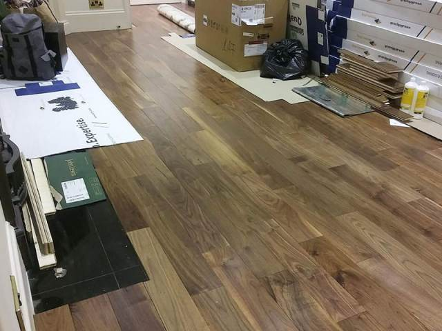 Install Wood Flooring To Premises In Islington