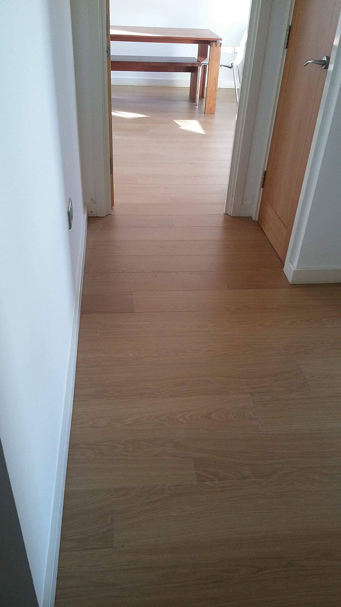 Laminate flooring in clapham residence the flooring group for Laminate flooring waterloo
