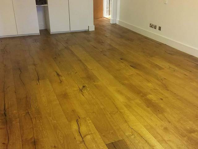 Wood Flooring Installation In Kensington