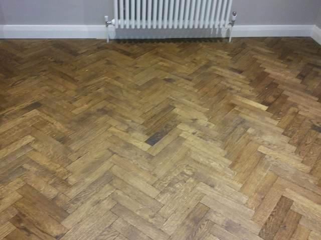Panaget Wood Floor Installation In Pimlico