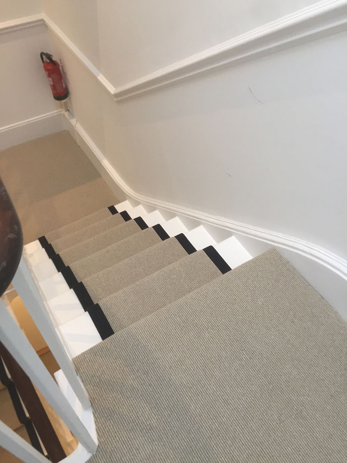 PORTFOLIO - LIGHTER CARPET ON STAIRS WITH BLACK BINDING (6)